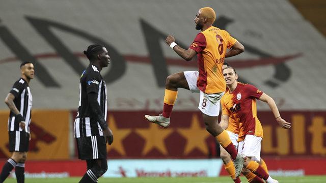 Galatasaray evinde Beşiktaş'a geçit vermedi