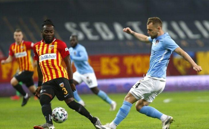 Kayserispor ile Gaziantep FK yenişemedi