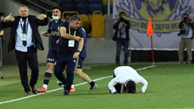 Son dakika golü ile gelen büyük sevinç