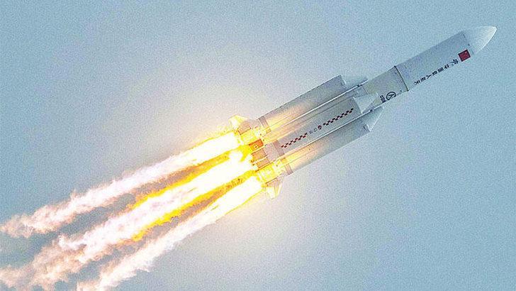 Çin roketi düştü mü? Çin roketi nereye düştü, ne zaman düştü? Pentagon açıkladı!