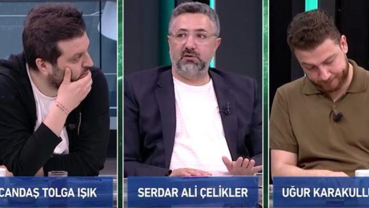 Serdar Ali Çelikler, canlı yayında Visca'nın Fenerbahçe'ye gittiğini duyurdu