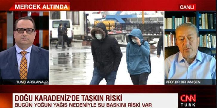 Orhan Şen: Yağışlar ülkeyi terk edecek, sıcaklıklar çarşamba gününden sonra yükselecek
