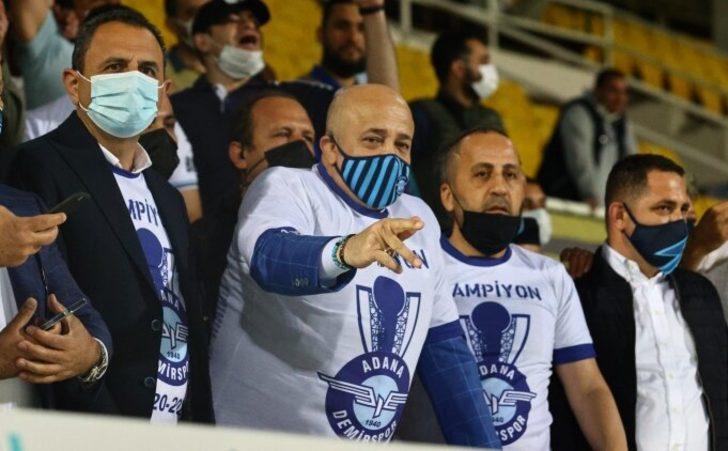 Adana Demirspor Başkanı Murat Sancak: Allah'tan daha ne isteyeyim?