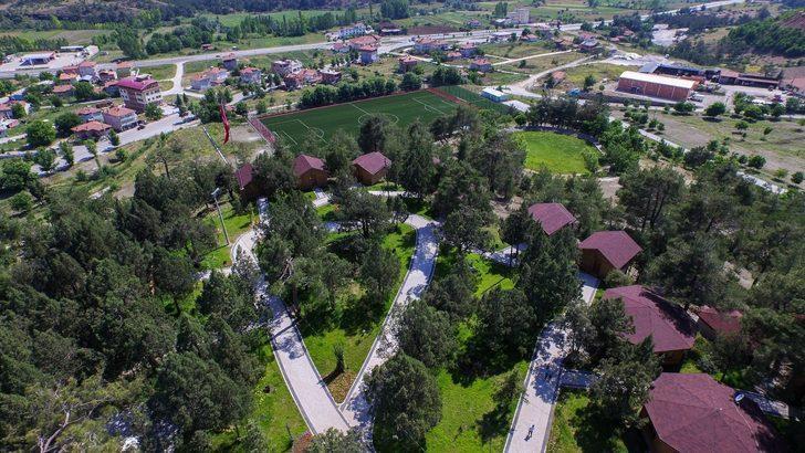 Bursa'nın Harmancık ilçesi kamp ve karavan alanı projesiyle turizmi hareketlendirmeye çalışacak