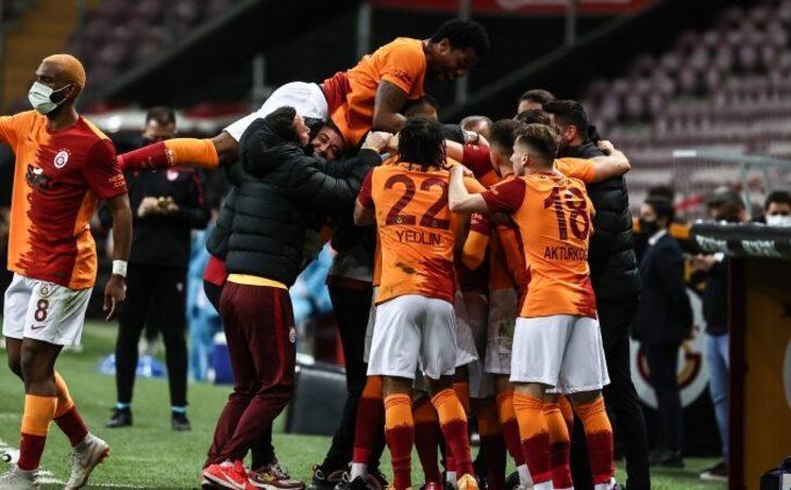Galatasaray'dan Beşiktaş'a büyük üstünlük