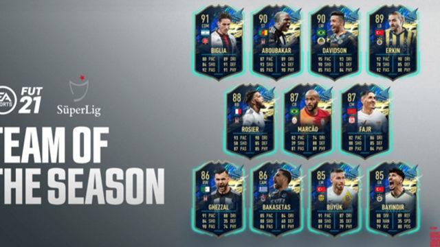FIFA 21, sezonun takımını açıkladı