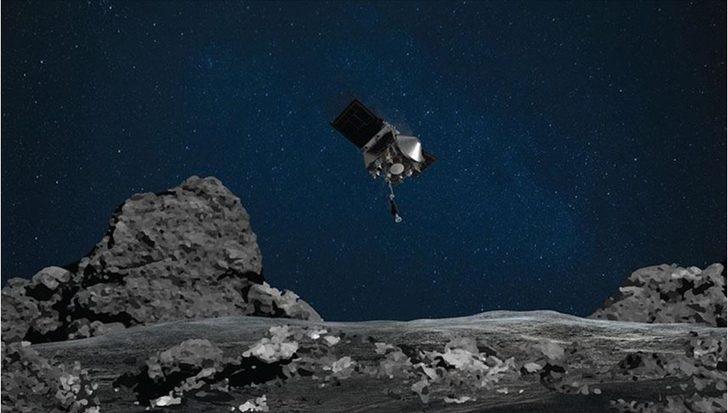NASA'nın Bennu asteroidine gönderdiği uzay aracı 2 yıllık dönüş yolculuğuna başladı