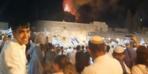 Mescid-i Aksa'daki yangını sevinç çığlıklarıyla izlediler
