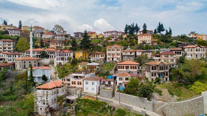 Doğu Karadeniz'in Safranbolu'su ziyaretçilerini Osmanlı Dönemi'nde hissettiriyor