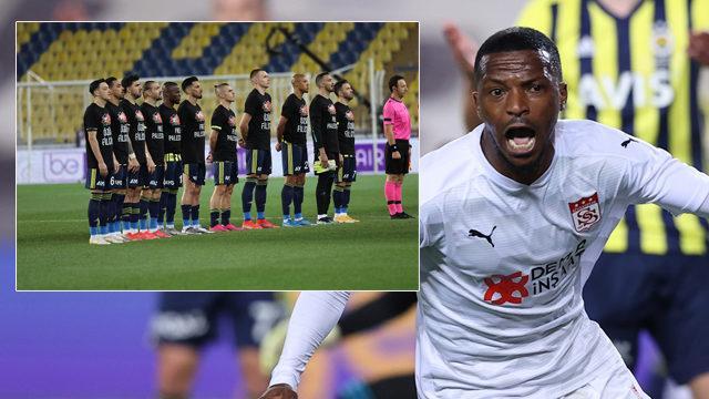 Kadıköy'de Fenerbahçe'ye Sivasspor engeli