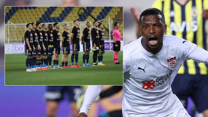 ÖZET   Fenerbahçe -Sivasspor maç sonucu: 1-2