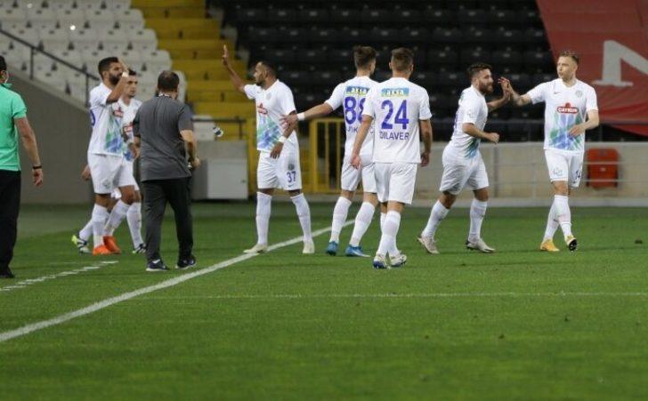 Çaykur Rizespor, Gaziantep'i devirdi
