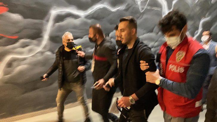 Maç sonu olay! Rachid Ghezzal'ın menajeri gözaltına alındı