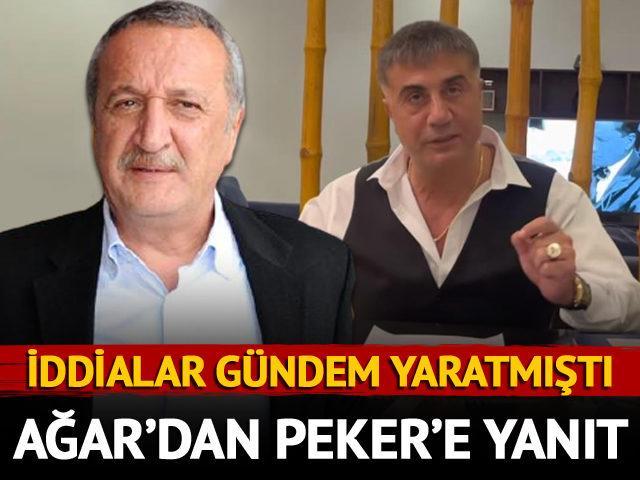 Mehmet Ağar'dan Sedat Peker'in iddialarına yanıt!