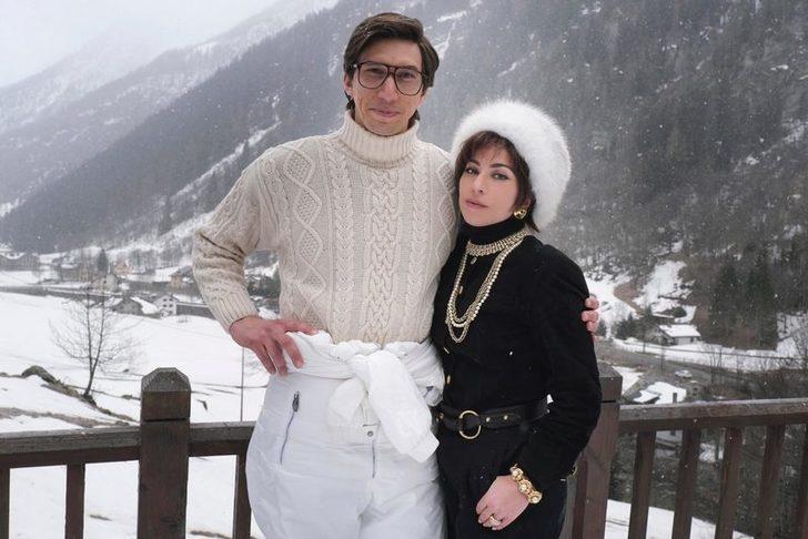 Lady Gaga ve Adam Driver'ın başrollerini paylaştığı House Of Gucci filminin çekimleri tamamlandı