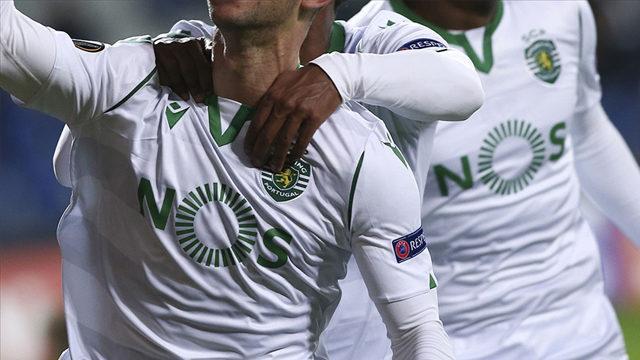 Sporting'de şampiyonluk sevinci yaşanıyor