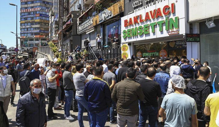 Ramazan Bayramı arifesinde tatlıcılarda yoğunluk