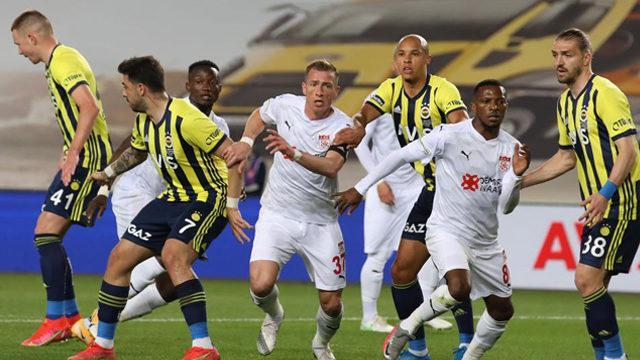 Sivasspor 3 hafta sonra kalesinde gol gördü