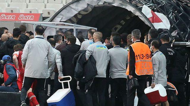 TFF, Beşiktaş - Karagümrük maçı sonrası o görüntüleri istedi!