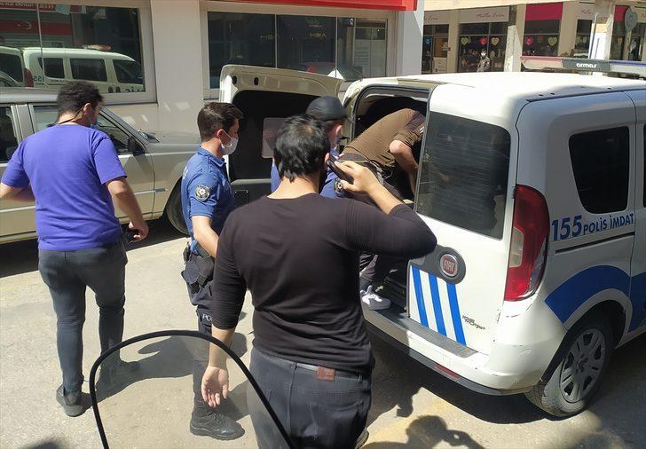 Hırsızlık yaptığı otelin sahibi tarafından 1,5 ay sonra yakalanarak polise teslim edildi
