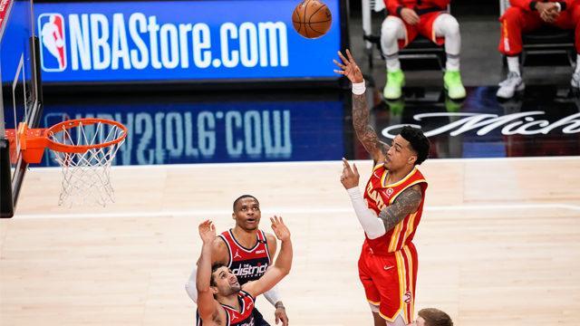 Hawks ve Knicks play-off turuna kaldı