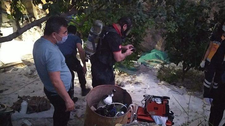 Pompa indirmek için girdikleri kuyuda gazdan zehirlenen 3 kişi hayatını kaybetti