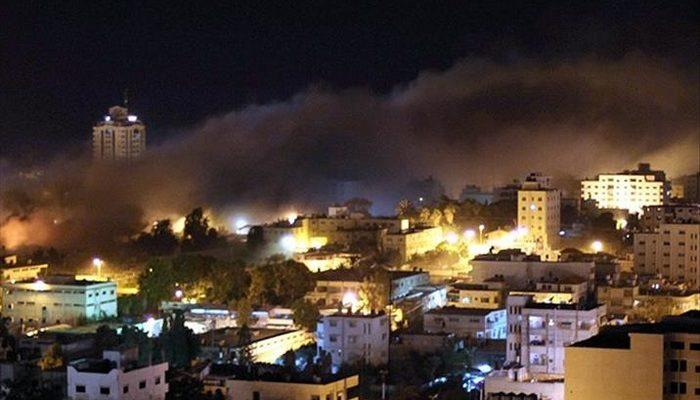 Son Dakika: İsrail'e peş peşe roketler atıldı