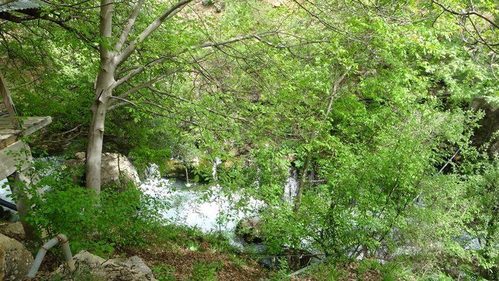 Adana'nın gizli doğa cenneti 'Pağnık' görenleri kendisine hayran bırakıyor