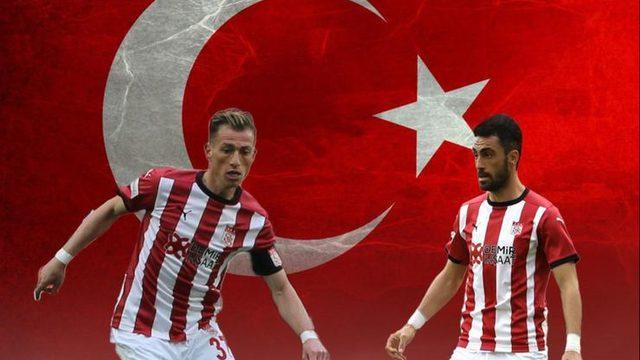 Sivasspor'dan milli takım göndermesi
