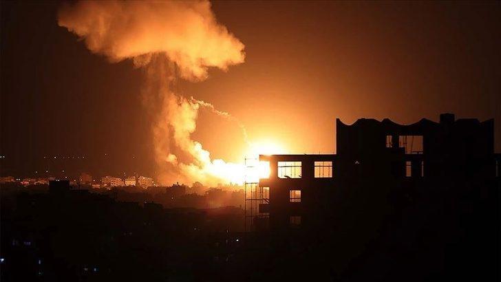 Gazze'den İsrail'e füzeyle karşılık! 200 tane atıldı