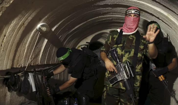 İsrail'in hedefindeler! İşte Hamas'ın tünelleri