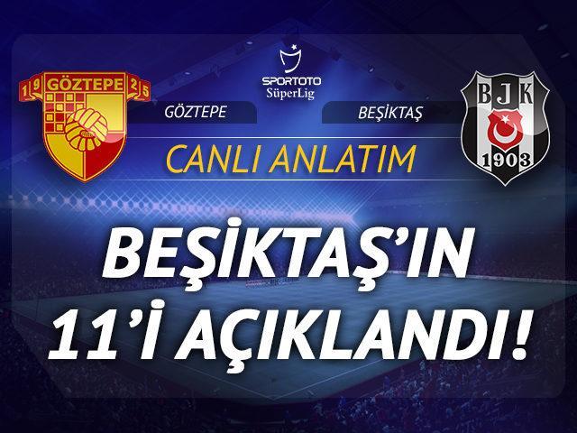 CANLI | Göztepe-Beşiktaş