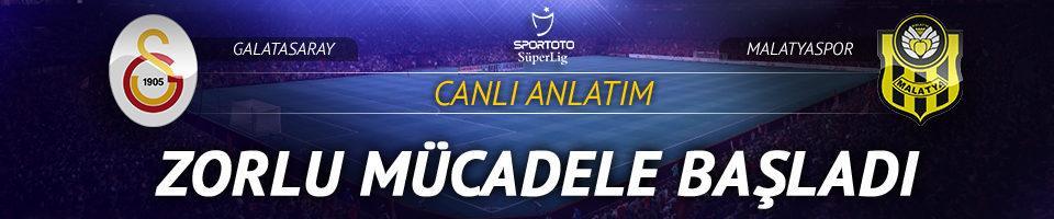 CANLI |Galatasaray - Yeni Malatyaspor