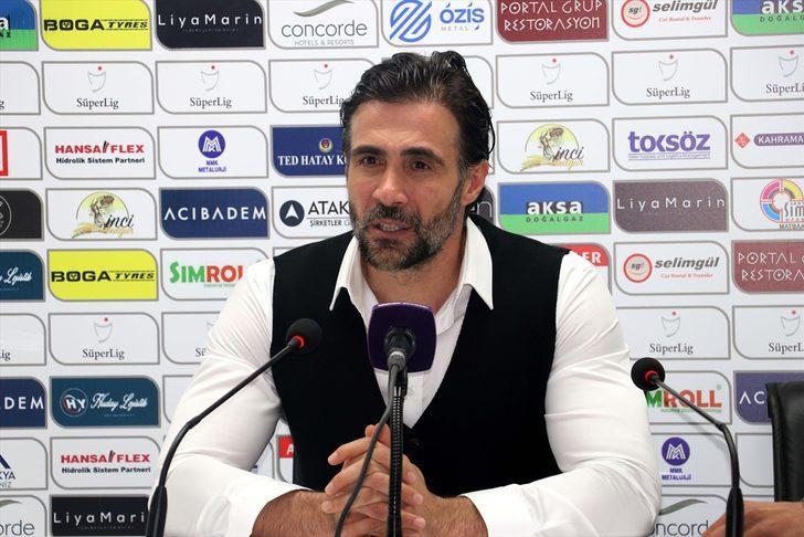 Hatayspor-Gaziantep maçının ardından