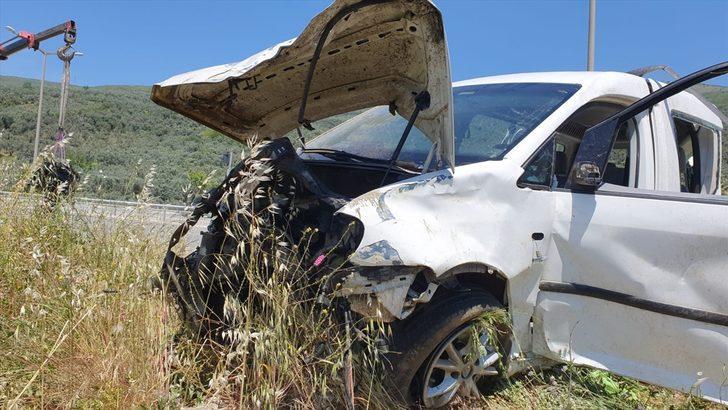 GÜNCELLEME - Gemlik'te trafik kazasında bir kişi ağır yaralandı