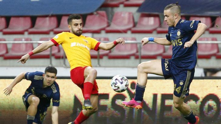 ÖZET   Kayserispor -Fenerbahçe maç sonucu: 1-2