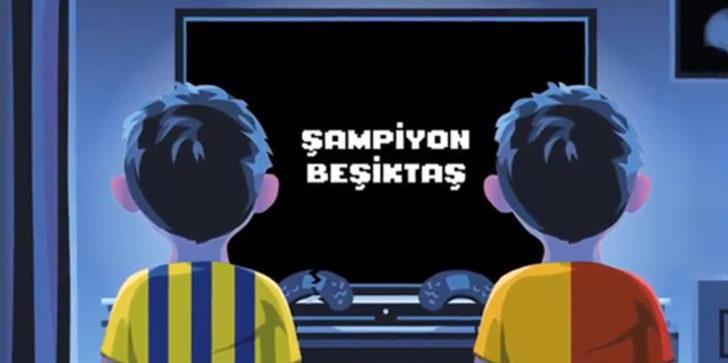 Beşiktaş'tan Galatasaray ve Fenerbahçe'ye olay gönderme!
