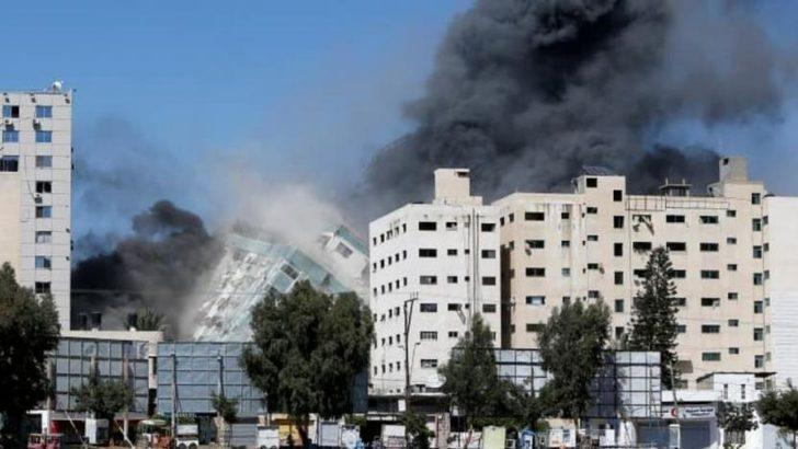 İsrailli basın derneği: Gazze'de vurulan basın ofislerinin olduğu binayı Hamas'ın kullandığına dair delil yok