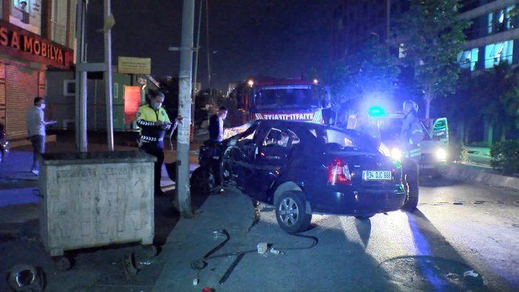 Esenyurt'ta şampiyonluk kutlaması kazayla sonuçlandı: Çok sayıda yaralı var