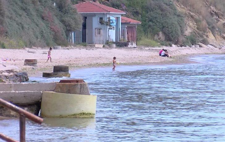 Silivri'de isyan ettiren olay: Hepsi denize girince hastalandı