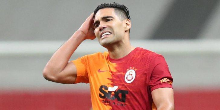 Galatasaray'dan ayrılacak mı? Radamel Falcao resmen açıkladı