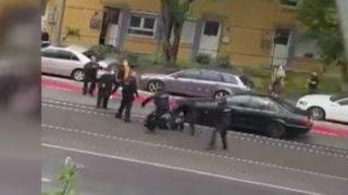 Alman polisinden Türk vatandaşına şiddet!