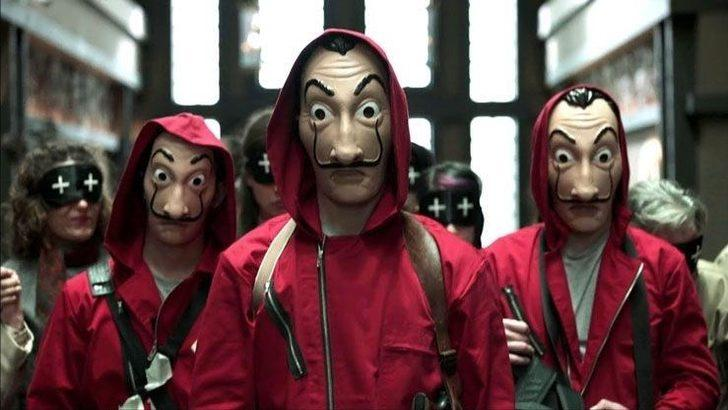 La Casa De Papel'in Türkiye versiyonu La Hay De Maske'den ilk görsel yayınlandı
