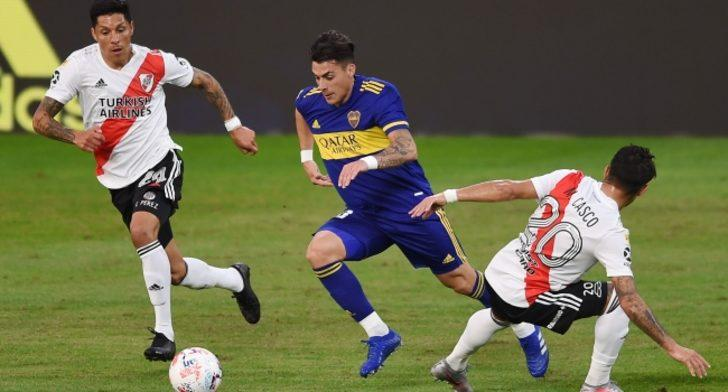 Superclasico'da kazanan Boca Juniors