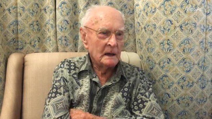 """111 yaşındaki adam uzun yaşamın sırrını """"tavuk beyni"""" yemeye bağladı"""