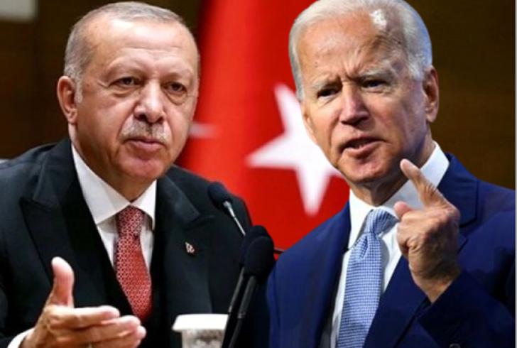 Cumhurbaşkanı Erdoğan'dan Biden'a tepki: Kanlı ellerinizle bir tarih yazıyorsunuz