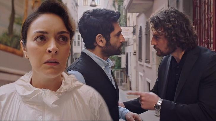 Masumlar Apartmanı 34. son bölüm final sahnesinde Safiye, Han'ın Naci'ye yaptıklarını öğrendi