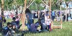 Tatili fırsat bilenler Bakırköy Sahili'ni doldurdu