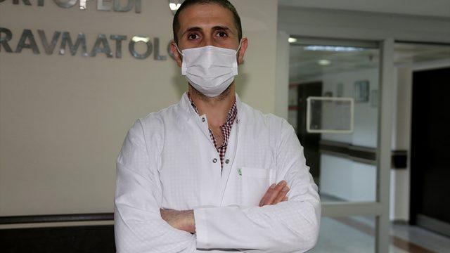 Doğu Anadolu'da, Atatürk Üniversitesi Araştırma Hastanesi el cerrahisi bölümü şifa dağıtıyor