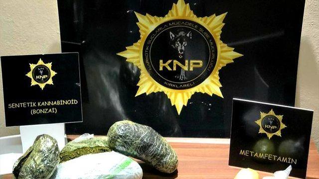 Kırklareli'nde uyuşturucu operasyonunda yakalanan 9 şüpheli tutuklandı